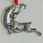Silver Scenes Ornaments